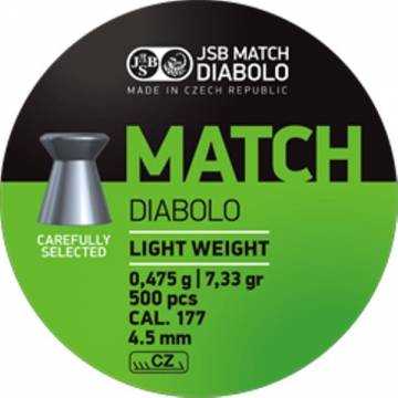 JSB Match Diabolo 4,49mm (0,475g) 500pcs