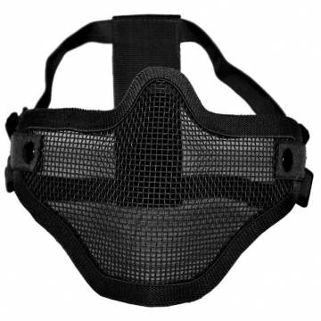 Mil-Tec Half Face Mesh Mask - Black