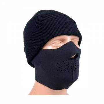 Mil-Tec Half Face Neoprene Mask - Black