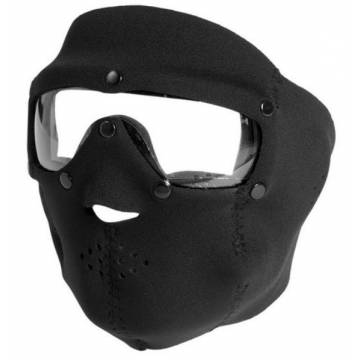 Mil-Tec Neoprene Mask w/ Intergrated Goggle - Black