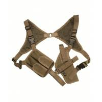 Mil-Tec Shoulder Holster Cordura - Coyote