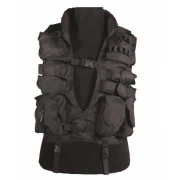 Mil-Tec Hong Kong Swat Tactical Vest - Black