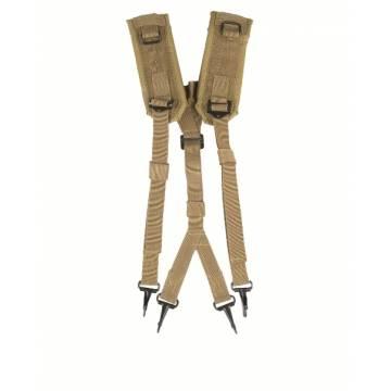 Mil-Tec US LC2 Suspenders - Coyote