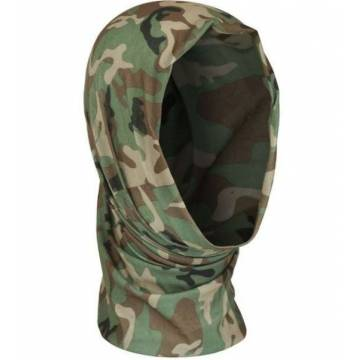 Mil-Tec Multi Function Headgear - Woodland
