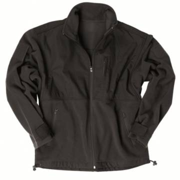 Mil-Tec Fleece Jacket  - Black