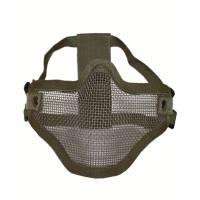 Mil-Tec Half Face Mesh Mask - Olive