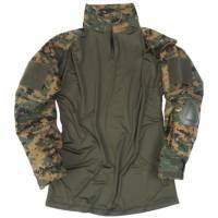 Mil-Tec Tactical Warrior Shirt w/ Elbow Pads - Marpat