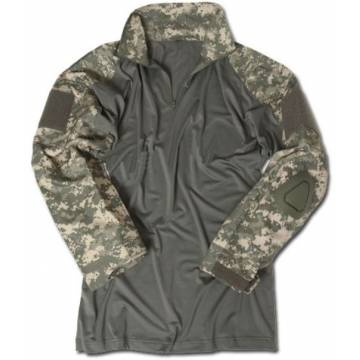 Mil-Tec Tactical Warrior Shirt w/ Elbow Pads - ACU