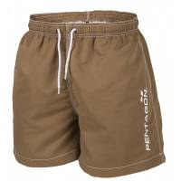 Pentagon Hippocampus Swimming Shorts - Coyote