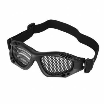 Mil-Tec Metal Mesh Goggle - Black