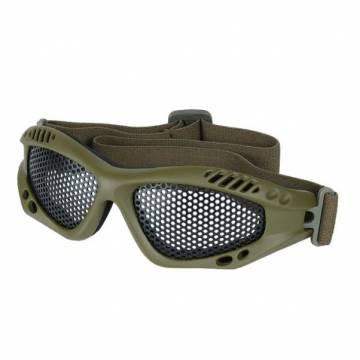 Mil-Tec Metal Mesh Goggle - Olive