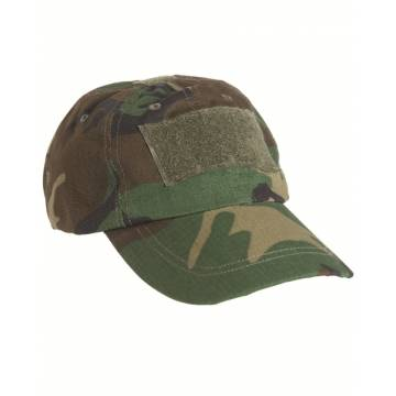 Mil-Tec Tactical BB Cap - Woodland