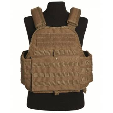 Mil-Tec Plate Carrier Vest - Coyote