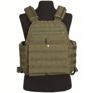 Mil-Tec Plate Carrier Vest - Olive