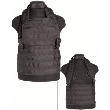Mil-Tec Chest Rig Molle Expandable - Black