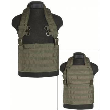 Mil-Tec Chest Rig Molle Expandable - Olive
