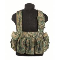 Mil-Tec Chest Rig 6 Pocket - Marpat