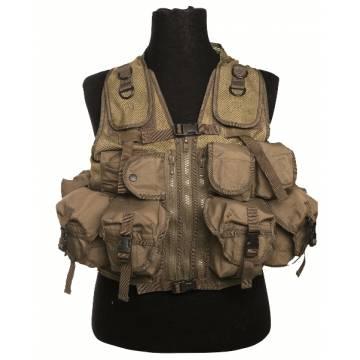 Mil-Tec Ultimate Assault Vest - Coyote