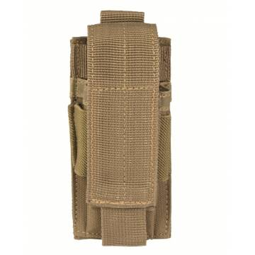 Mil-Tec Single Pistol Magazine Pouch - Coyote