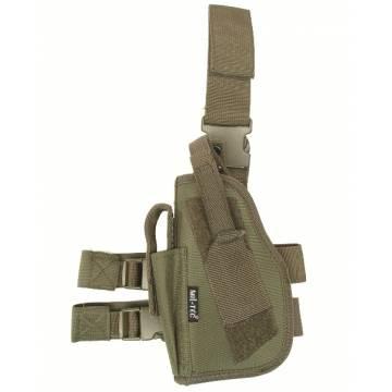 Mil-Tec Tactical Leg Pistol Holster (Left) Olive