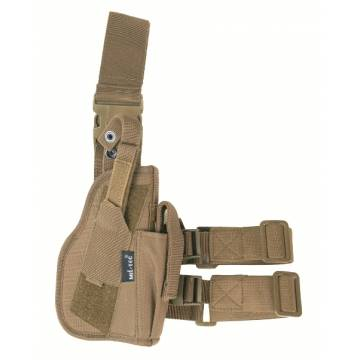 Mil-Tec Tactical Leg Pistol Holster - Coyote