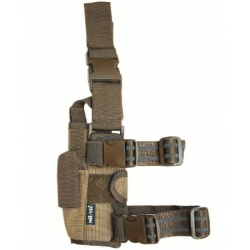 Mil-Tec Adjustable Leg Holster Cordura - Coyote