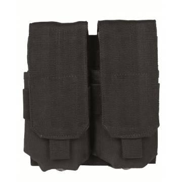 Mil-Tec Double M4/M16 Magazine Pouch - Black