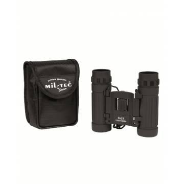 Mil-Tec Foldable Binocular 8x21 - Black