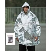 Mil-Tec Survival Poncho Silver