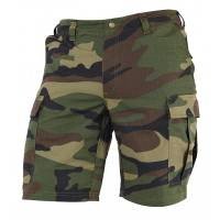 Pentagon BDU Short Pants (Rip-stop) Woodland