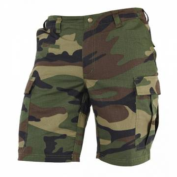 Pentagon BDU 2.0 Short Pants (Rip-stop) Woodland