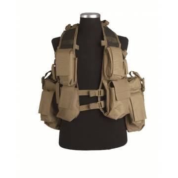 Mil-Tec South African Assault Vest - Coyote