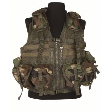 Mil-Tec Tactical Vest Modular System - Woodland