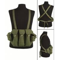Mil-Tec Chicom AK Canvas Chest Rig - Olive