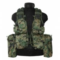 Mil-Tec South African Assault Vest - Marpat
