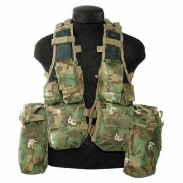 Mil-Tec South African Assault Vest - ARID Woodland