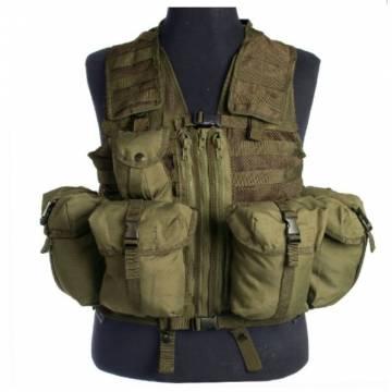 Mil-Tec Tactical Vest Modular System - Olive