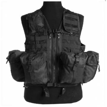 Mil-Tec Tactical Vest Modular System - Black