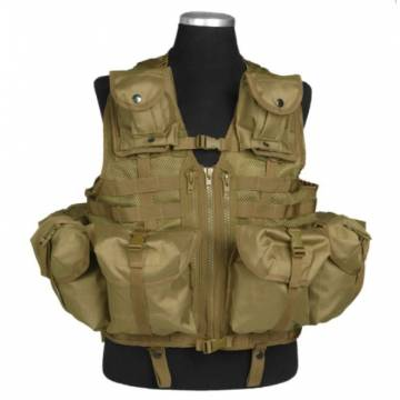Mil-Tec Tactical Vest Modular System - Coyote