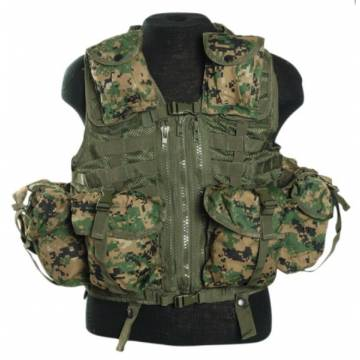 Mil-Tec Tactical Vest Modular System - Marpat
