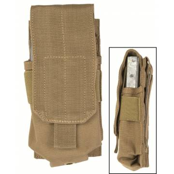 Mil-Tec Single M4/M16 Magazine Pouch - Coyote