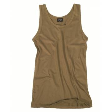 Mil-Tec Tank Top Cotton - Coyote