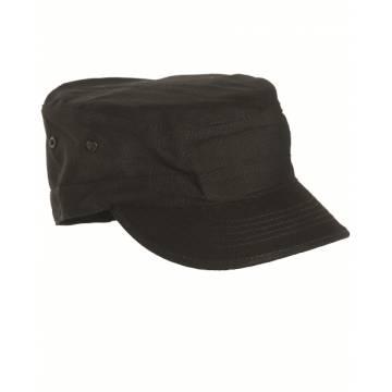 Mil-Tec BDU Field Cap (Rip-stop) Black