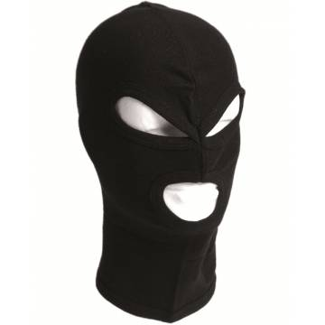 Mil-Tec Balaclava Three Hole - Black