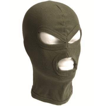 Mil-Tec Balaclava Three Hole - Olive