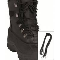 Mil-Tec Shoe Laces 80cm Cotton - Black
