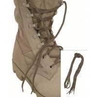 Mil-Tec Shoe Laces 140cm Cotton - Coyote