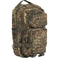 Mil-Tec US Assault Pack S Laser Cut - Flecktarn