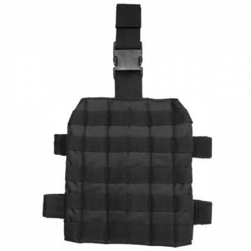 Mil-Tec Leg Panel Molle - Black