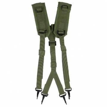 Mil-Tec US LC2 Suspenders - Olive